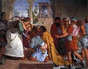 CORNELIUS, Peter The Recognition of Joseph by his Brothers oil on canvas